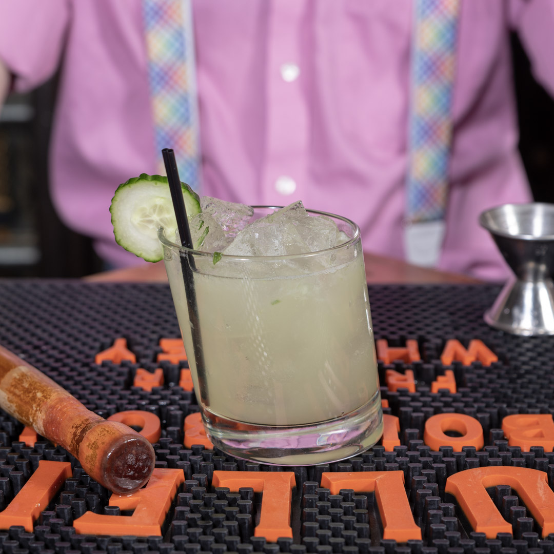 Cucumber Breeze Cocktail